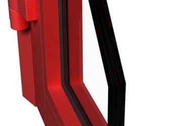 Fenster mit Branschutz P78EI